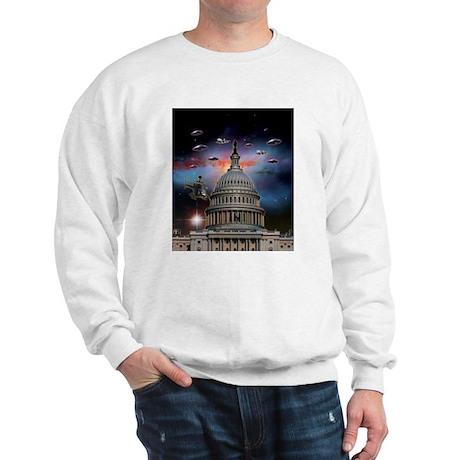 UFOs Over Wash. DC Sweatshirt