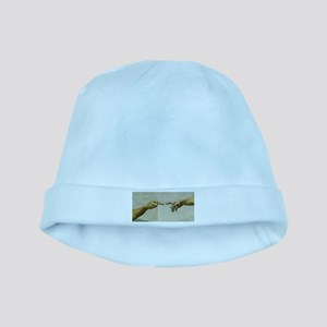 Man-Flips-Off-God baby hat