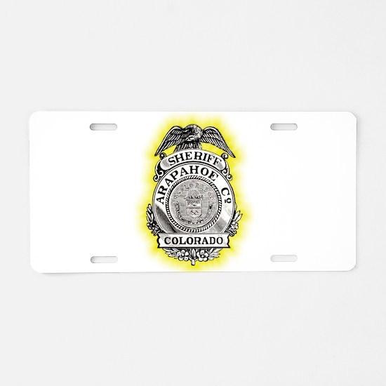 Arapahoe County Sheriff Aluminum License Plate