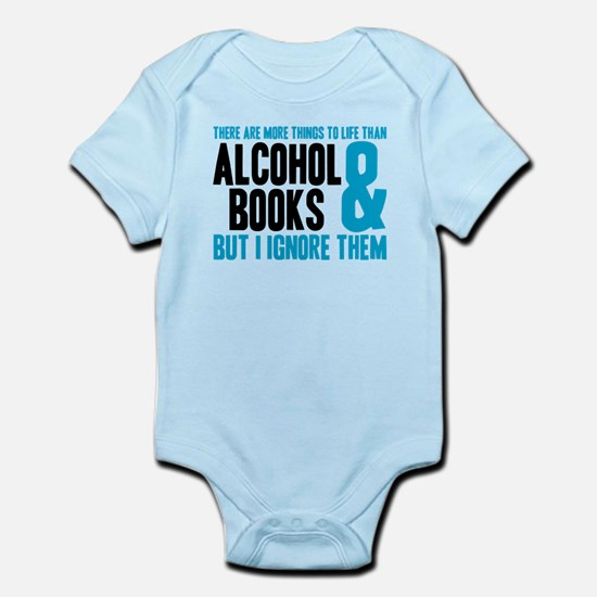 There Are More Things To Life Infant Bodysuit