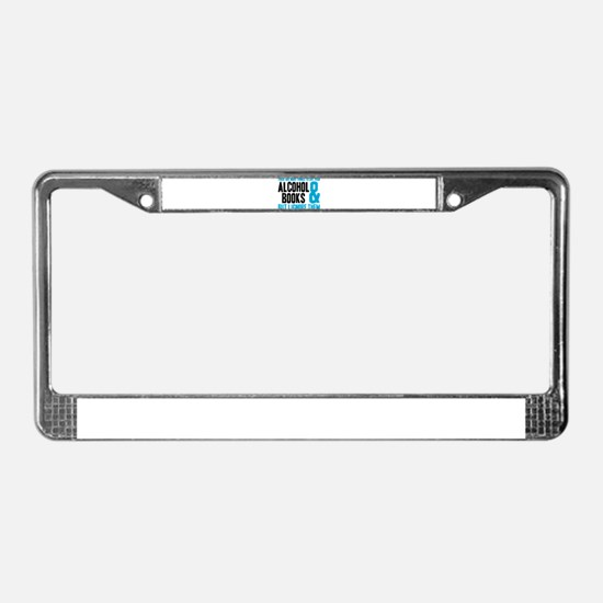 There Are More Things To Life License Plate Frame