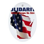 Solidarity - Union - Recall W Ornament (Oval)