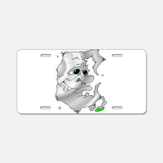 MR. Moon & Friends Aluminum License Plate