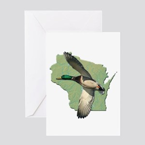 Wisconsin Duck Greeting Card