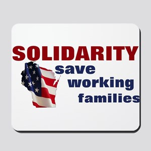Solidarity - Union - Recall W Mousepad