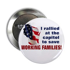 "Solidarity - Union - Recall W 2.25"" Button (1"