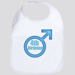 4th Birthday Bib