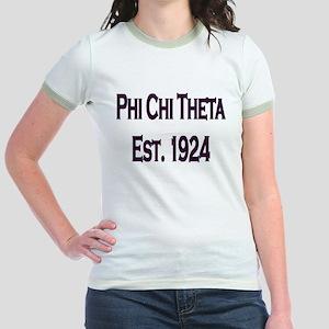 Phi Chi Theta Jr. Ringer T-Shirt