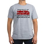 Parents Eat Their Young Men's Fitted T-Shirt (dark