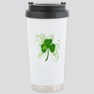 St Paddys Day Fancy Sha Stainless Steel Travel Mug