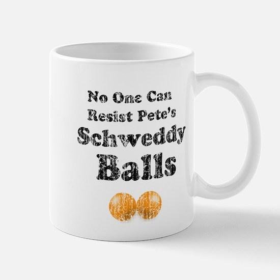 Vintage Pete's Schweddy balls Mug