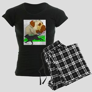 Mastif Women's Dark Pajamas
