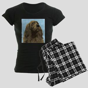 Sussex Spaniel Women's Dark Pajamas