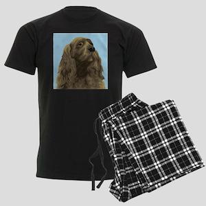 Sussex Spaniel Men's Dark Pajamas