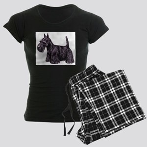 Scottish Terrier Women's Dark Pajamas