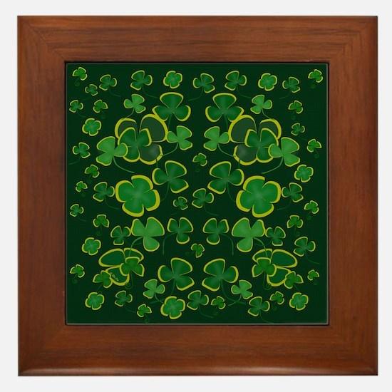The Green Framed Tile