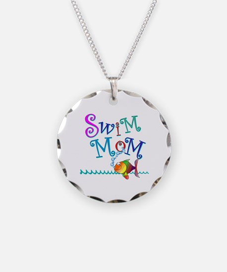 Swim Mom Necklace