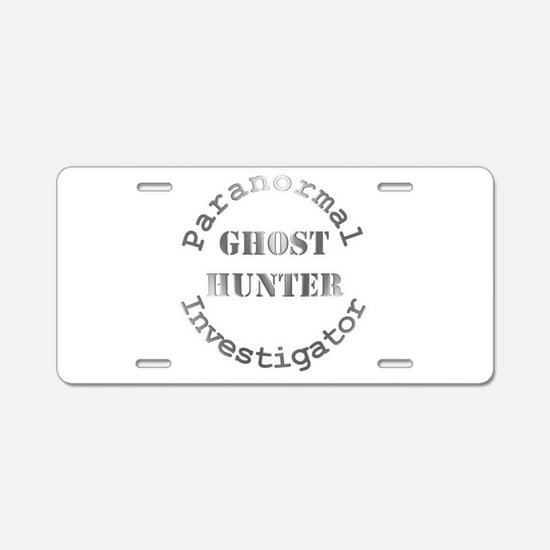 Unique Ghost Aluminum License Plate