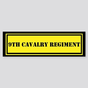 9th Cavalry Regiment Sticker (Bumper)