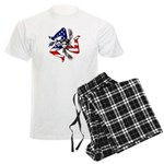 American Trinacria Men's Light Pajamas