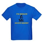 I'm Sicilian - Kids Dark T-Shirt