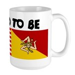 Proud to be Sicilian - Large Mug
