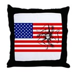 American Trinacria Throw Pillow