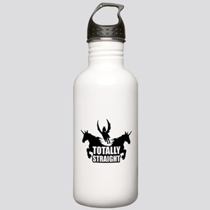 Unicorns : Totally Straight Stainless Water Bottle