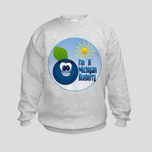 The Michigan Blueberry Kids Sweatshirt
