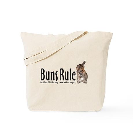 Buns Rule Tote Bag