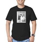 BUKOWSKI Men's Fitted T-Shirt (dark)