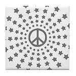 Peace Burst Tile Coaster