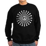 Peace Burst Sweatshirt (dark)