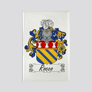 Rocco Coat of Arms Rectangle Magnet