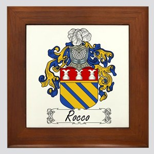 Rocco Coat of Arms Framed Tile
