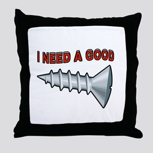 DON'T WE ALL Throw Pillow