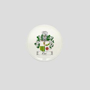 Rizzi Family Crest Mini Button
