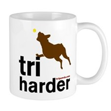 Tri Harder Boxer Mug