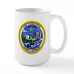 USS CHARLOTTE Large Mug