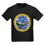 USS CHARLOTTE Kids Dark T-Shirt