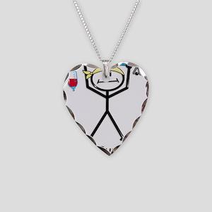 Cancer Survivor Necklace Heart Charm
