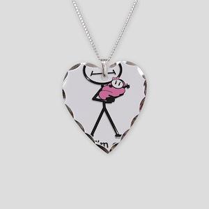 Great Grandma Baby Girl Necklace Heart Charm