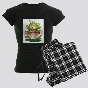 Frog & Toad stool Women's Dark Pajamas