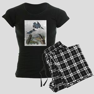 Belted Kingfisher Women's Dark Pajamas