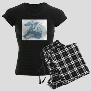 Blue Ice Dragon Women's Dark Pajamas