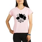 Butterfly-shaped fans Performance Dry T-Shirt