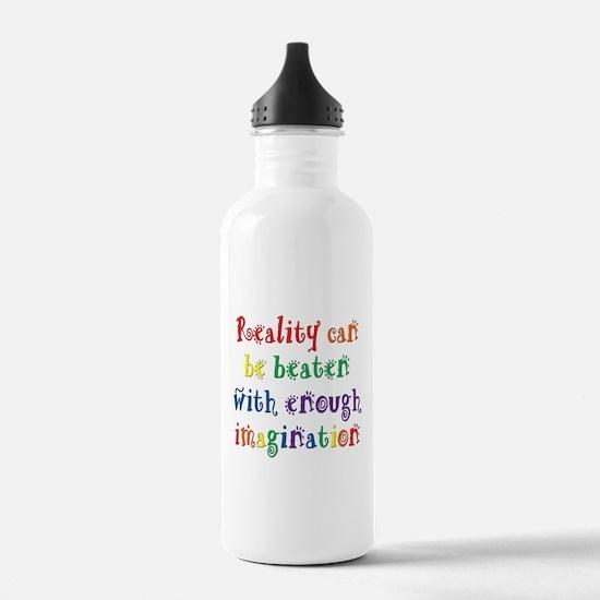 Reality Can be Beaten Water Bottle