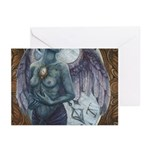 Make-Shift Angel III Greeting Cards (Pk of 10)