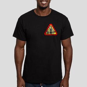 Star Fleet Academy Men's Fitted T-Shirt (dark)