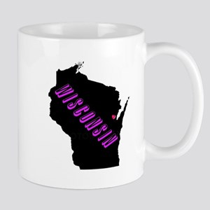 Wisconsin Purple Mug